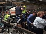 Hiện trường đổ nát trong vụ tai nạn tàu hỏa tại Mỹ