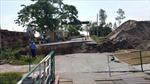 Sạt lở nghiêm trọng tại khu cầu phao nối Thái Bình-Hải Phòng