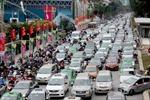 Thi công đường sắt trên cao gây cản trở giao thông
