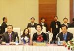 Chủ tịch Quốc hội Nguyễn Thị Kim Ngân chào xã giao Tổng thống Myanmar