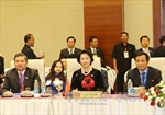 Chủ tịch Quốc hội gặp mặt cộng đồng người Việt Nam tại Myanmar