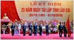 Lào Cai chào mừng kỷ niệm 25 năm tái lập tỉnh