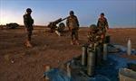 Video súng pháo dội bão lửa mở đường tấn công Mosul