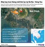 Toàn cảnh vụ trực thăng mất tích tại Bà Rịa - Vũng Tàu