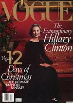 Tạp chí thời trang Vogue phá vỡ truyền thống ủng hộ bà Clinton