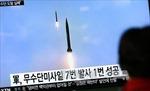 Triều Tiên phóng tên lửa Musudan nhưng lại thất bại