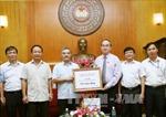 TTXVN ủng hộ đồng bào miền Trung 310 triệu đồng