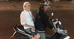 Bà cụ Nga 89 tuổi một mình xách ba lô du lịch Việt Nam