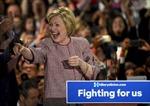 Bỏ ông Trump sang một bên, bà Clinton hướng tới mục tiêu mới