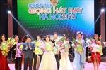 Nguyễn Thị Thu Thủy đoạt giải nhất Giọng hát hay Hà Nội 2016