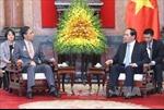 Chủ tịch nước Trần Đại Quang tiếp Thống đốc tỉnh Nagano,Nhật Bản