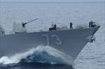 Tàu khu trục thuộc Hạm đội 3 Hải quân Mỹ lần đầu tuần tra Biển Đông