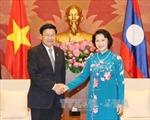 Chủ tịch Quốc hội Nguyễn Thị Kim Ngân tiếp Thủ tướng Lào