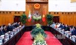 Thủ tướng Nguyễn Xuân Phúc tiếp Tổng thống Myanmar