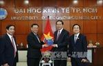 Chủ tịch nước dự kỷ niệm 40 năm trường Đại học Kinh tế TP. HCM