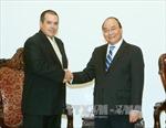 Thủ tướng Nguyễn Xuân Phúc tiếp Chủ tịch TTX Prensa Latina