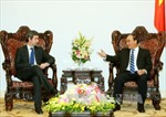 Thủ tướng Nguyễn Xuân Phúc tiếp Bộ trưởng Tư pháp Italy