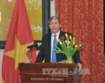 Thường trực Ban Bí thư Đinh Thế Huynh hội kiến Tổng Thư ký LHQ
