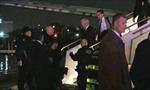 Máy bay chở Phó tướng ông Trump trượt khỏi đường băng
