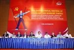 Khai mạc cuộc gặp quốc tế các đảng cộng sản và công nhân