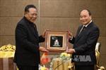 Thủ tướng Nguyễn Xuân Phúc tiếp nhân sĩ và doanh nghiệp Thái Lan