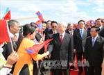 Tổng Bí thư Nguyễn Phú Trọng thăm hữu nghị chính thức Lào
