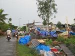 Lốc xoáy làm 126 căn nhà tại Sóc Trăng bị sập