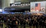 Mỹ hạ thủy tàu ngầm tấn công mới lớp Virginia