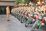 Điều động tổng lực CSGT Hà Nội đảm bảo giao thông Tết