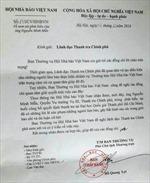 Hội Nhà báo đề nghị xem xét phát ngôn của Quyền vụ trưởng Nguyễn Minh Mẫn
