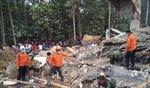 Thương vong trận động đất tại Indonesia tiếp tục tăng