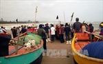 Bốn ngư dân mất tích khi đang khai thác trên biển