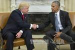 Bước chuyển trong quan hệ giữa ông Trump và Tổng thống Obama