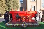 Khánh thành tượng Bác đặt tại Đại sứ quán Việt Nam ở Trung Quốc