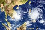 Vùng áp thấp trên khu vực Nam Biển Đông ít di chuyển