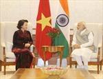 Chủ tịch Quốc hội hội kiến Thủ tướng Ấn Độ