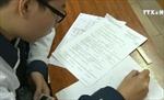 Nhiều trường thi học kỳ 1 giống thi THPT quốc gia