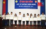 Trao học bổng liệt sĩ Huỳnh Thiện Nghệ cho học sinh nghèo