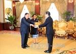 Đại sứ Việt Nam trình quốc thư lên Chủ tịch nước CHDCND Lào