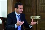 Tổng thống Syria sẵn sàng đàm phán với 100 nhóm phiến quân