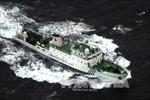 """Tàu Trung Quốc tiếp tục """"lượn"""" quanh quần đảo tranh chấp với Nhật Bản"""