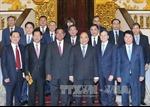 Thủ tướng Nguyễn Xuân Phúc tiếp Phó Thủ tướng, Bộ trưởng Nội vụ Campuchia