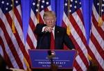 CNN kiểm tra độ chính xác phát biểu của ông Trump trong buổi họp báo đầu