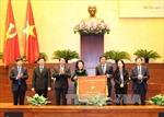 Chủ tịch Quốc hội Nguyễn Thị Kim Ngân dự Hội nghị triển khai nhiệm vụ năm 2017 của Văn phòng Quốc hội