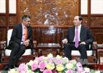 Chủ tịch nước Trần Đại Quang tiếp Tổng Giám đốc tập đoàn TATA tại Việt Nam