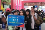 'Chuyến xe mùa Xuân' đưa sinh viên, công nhân về quê đón Tết