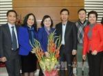 Trưởng Ban Tuyên giáo Trung ương Võ Văn Thưởng thăm các nhà khoa học, văn nghệ sỹ nhân