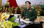 Đại tướng Ngô Xuân Lịch thăm, chúc Tết Trung ương Hội Cựu chiến binh