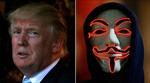 """Tin tặc Anonymous cảnh báo ông Trump """"sẽ phải hối hận"""""""