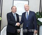 Thủ tướng Nguyễn Xuân Phúc tham dự các hoạt động tại Diễn đàn Davos